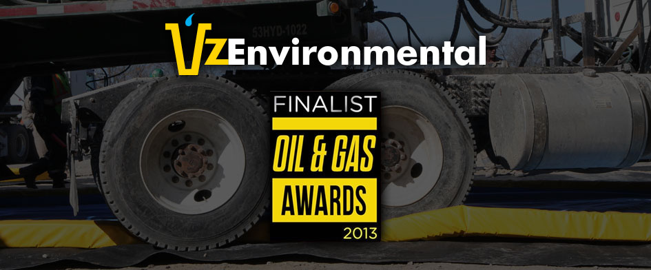 VZ Environmental is 2013 Oil & Gas Awards Finalist