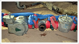 Flow Line Component Safety Restraint