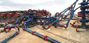 Frac Iron Flow Line Restraint Services