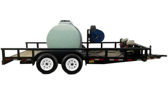 power wash trailer rental