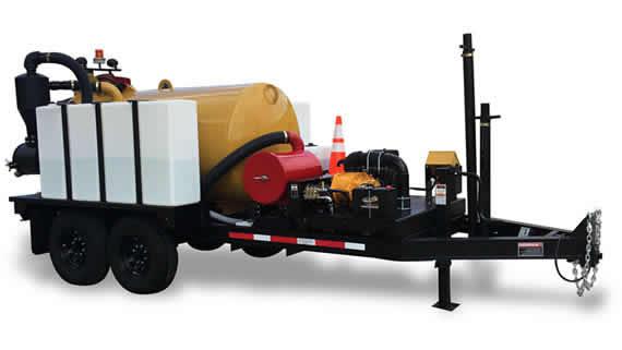 vacuum trailer rental