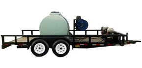 Oilfield Power Wash Trailer Rental