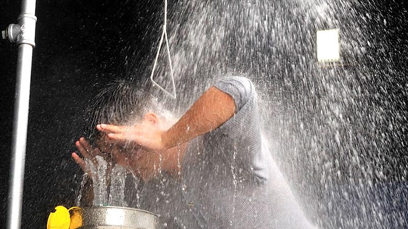 Portable Safety Shower Emergency Eye Wash Rental