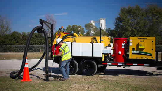 Utility Line Location Vac Tron Hydro Excavation Trailer