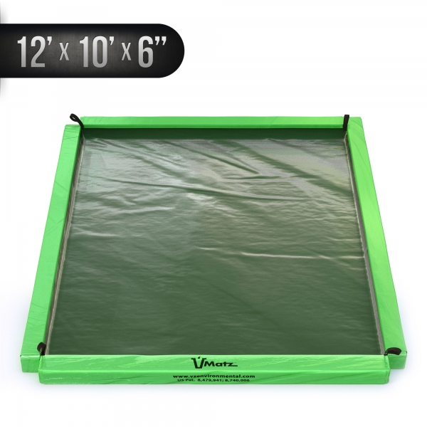 VMatz Spill Containment 12'x10'x6