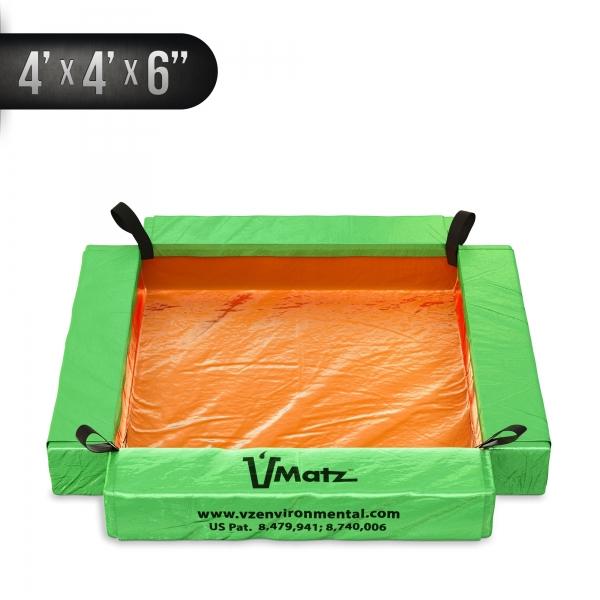 VMatz Spill Containment 4'x4'x6