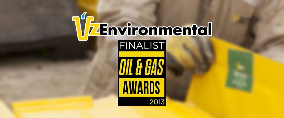 VZ is Finalist 2013 Oil & Gas Awards
